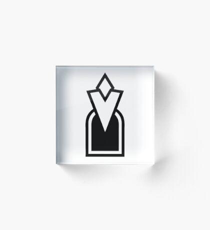 Skyrim Quest Marker Acrylic Block