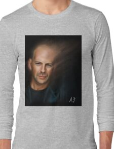 Bruce Willis Long Sleeve T-Shirt