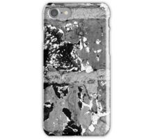 Brick Abstract 5 BW iPhone Case/Skin