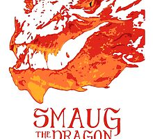 """Smaug - The Dragon"" by Fabble"