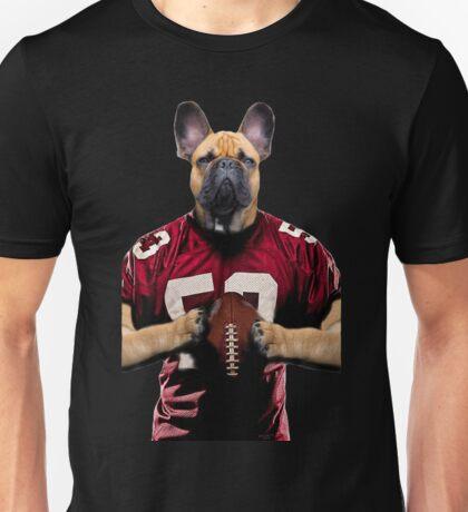 Chop american football color Unisex T-Shirt