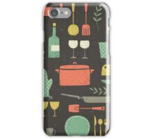 Love Your Kitchen. Retro Edition iPhone Case/Skin