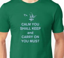yoda keep calm Unisex T-Shirt