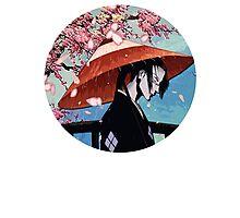 Samurai Champloo - Jin Umbrella Photographic Print