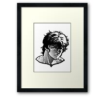 baki anime Framed Print