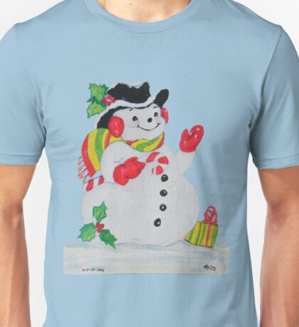 Let it SNOW man Unisex T-Shirt