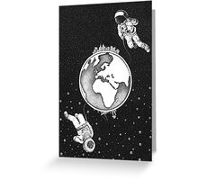 Explorers.  Greeting Card