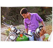 Ethan Byce on 76 Kawasaki Poster