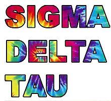 Sigma Delta Tau Tie-Dye by rlk0147