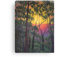 Bright Sunset Canvas Print