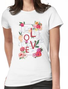 Love space Womens Fitted T-Shirt