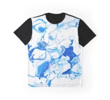 Marble in pale blue Graphic T-Shirt