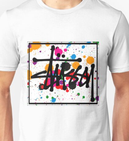 STUSSY art colors brush - limited Unisex T-Shirt