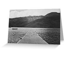 Unremembered Acts Greeting Card