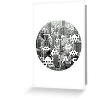 Space Invaders! Greeting Card