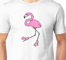 Sassy Flamingo Unisex T-Shirt