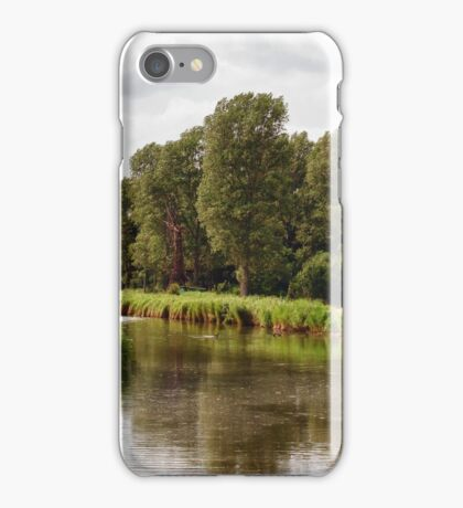 at the riverside iPhone Case/Skin