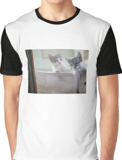 Cats Graphic T-Shirt