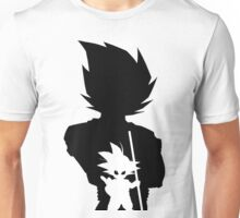 Goku and Kid Goku II Unisex T-Shirt