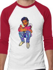 Candid Gambino Men's Baseball ¾ T-Shirt