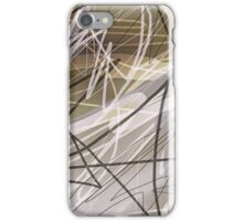 Abstract Scribble iPhone Case/Skin