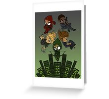 Arrow S3 Promo Poster Variant Greeting Card