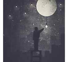 The Boy Who Lit The Stars Photographic Print