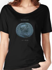 Ancient Roman Coin - EMPEROR HADRIAN Women's Relaxed Fit T-Shirt