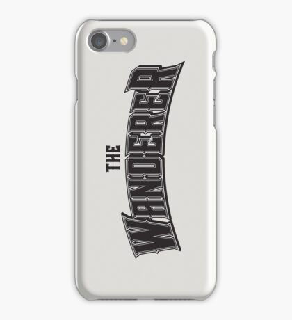 The Wanderer iPhone Case/Skin