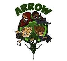Arrow S3 Promo Poster Variant - Version 3 Photographic Print