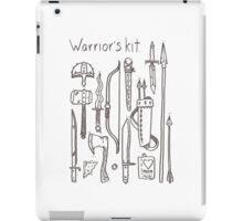 Warrior's Kit. iPad Case/Skin