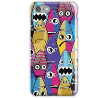 Monsters with emotions iPhone Case/Skin
