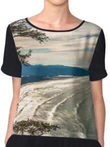 Cape Lookout Chiffon Top