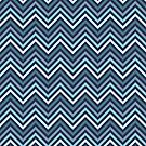 Blue Chevrons by destinysagent