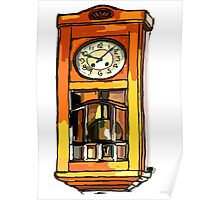 Still life ... Father's Clock Poster