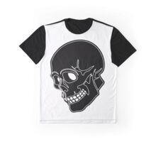 Black Skull Graphic T-Shirt