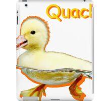 Cute Duckling Quack! iPad Case/Skin