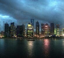 Shanghai – Cityscape by gentlemenwalrus