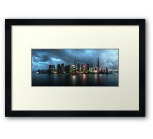 Shanghai – Cityscape Framed Print