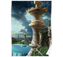 Fantasy Chess Art Poster