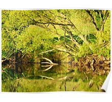 Riverside Reflections....................................N Ireland Poster