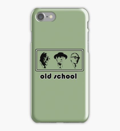 Old school architects Architecture T shirt iPhone Case/Skin