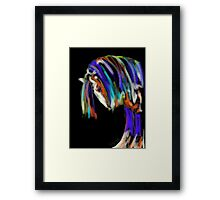 Horse Humble Guy Framed Print