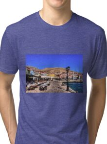 Crazy Paving and Tablecloths Tri-blend T-Shirt
