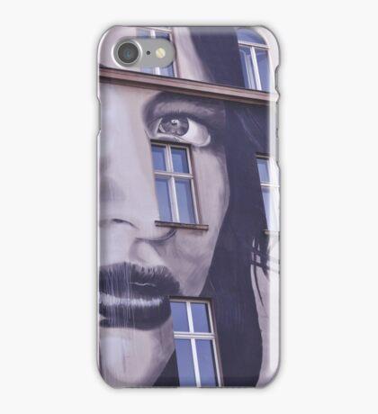 Building Street Art - Bülowstraße, Berlin iPhone Case/Skin