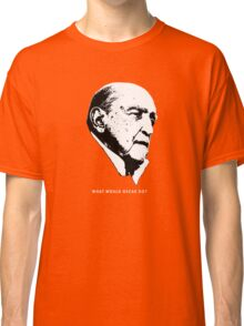 What would Oscar do? Architecture T shirt Classic T-Shirt