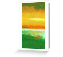 Expression Of  A  Beach  Greeting Card