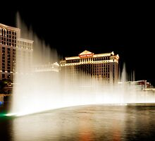 las vegas | bellagio fountain by auroreye