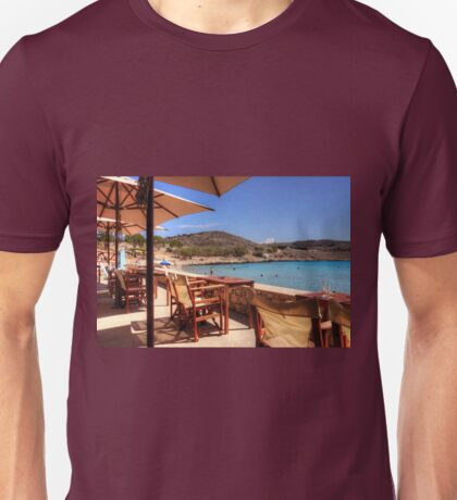 The bar at Pondamos Unisex T-Shirt