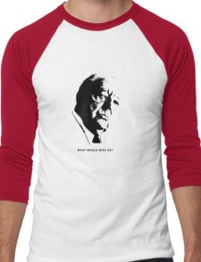 What would Mies do? Architecture T shirt Men's Baseball ¾ T-Shirt